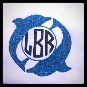 Dolphin Monogram shirts 🐬💙